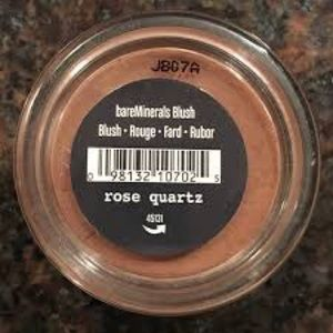 BareMinerals blush in rose quartz (small size)